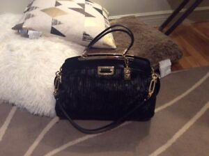 COACH - Black Leather Bag - Authentic