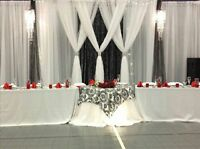 Wedding & Party Decor (backdrop, stage decor, centerpieces)