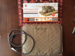 Soft Heated Outdoor Bed for Cat