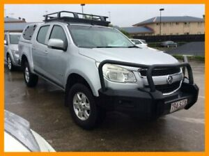 2013 Holden Colorado RG MY13 LT Crew Cab Silver 6 Speed Sports Automatic Utility