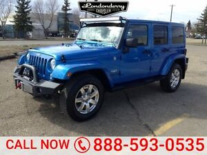 2015 Jeep Wrangler Unlimited 4WD UNLIMITED SAHARA