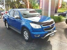 2014 Holden Colorado RG MY15 LTZ Crew Cab Blue 6 Speed Sports Automatic Utility Berwick Casey Area Preview