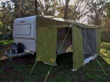 CARAVAN ANNEXE SUITS 12' FOOT CARAVAN. IN VGC AND ORIGINAL. Canungra Ipswich South Preview