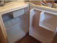 Argos small white fridge