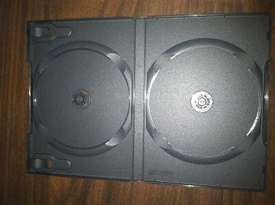 "50 New Rare Double 3.5/"" Floppy Diskette Tray Black 50//case"