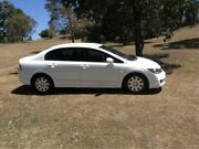 2010 Honda Civic 8th Gen MY10 VTi White 5 Speed Automatic Sedan East Maitland Maitland Area Preview