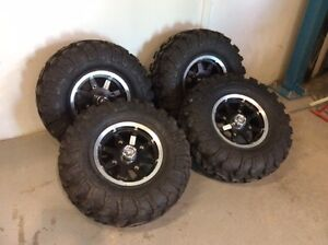 **NEW TIRES**   ITP Baja Cross X/D with Factory Rims X4