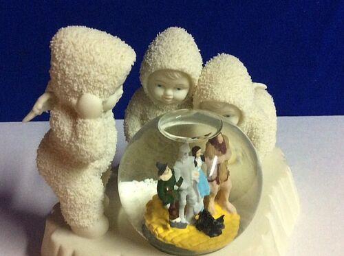 """Snowbabies Wizard Of Oz Snow Globe Dept. 56 """" THEY"""