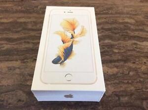 brand new sealed iPhone 6s PLUS 64gb Gold factory unlock