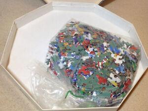 "Springbok Octagonal ""Flags of the World"" 500+ 21""x21"" puzzle Cambridge Kitchener Area image 6"