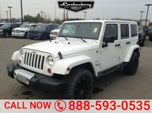 2013 Jeep Wrangler Unlimited 4WD UNLIMITED SAHARA Accident Free,