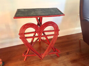 Very Nice Micmac Antique Folk Art table