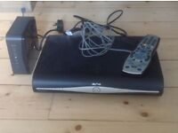 Sky hd box router with sky hd remote.