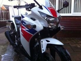 Honda CBR250RA-D ABS One owner Low Miles Just serviced