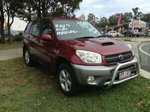 2005 Toyota RAV4 ACA23R CV Sport Maroon 5 Speed Manual Wagon Morayfield Caboolture Area Preview