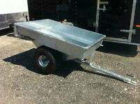 Excalibur Galvanized 5' ATV Wagon Trailer