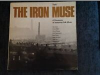 The IRON MUSE 1963 UK BLUE TOPIC MONO VINYL 12 Inch LP + INSERT - Industrial Folk Music - Lloyd etc