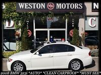 2008 BMW 3 Series AUTO* CLEAN CARPROOF* NEW TIRES* SUNROOF