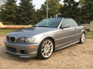 2004 BMW 330I, M///-PKG, AUTO, POWER TOP, LEATHER, 87K, $13,500