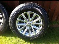 "2016 Mitsubishi L200 Barbarian 17"" Alloy Wheels & Tyres (NEW) £495!!!"