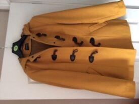Bargain Nearly New Ladies 3/4 Duffle coat