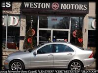 2003 Mercedes-Benz C-Class C230k*SUNROOF*LEATHER*CERT&ETESTED City of Toronto Toronto (GTA) Preview