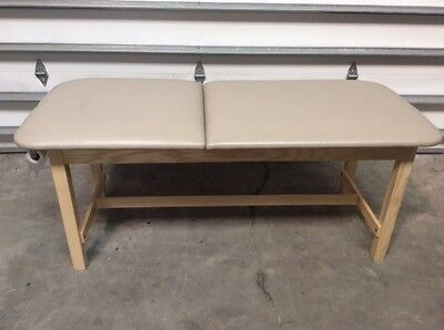 Clinton Industries 81010-30 Eco-friendly Wood Treatment Table Medical Exam