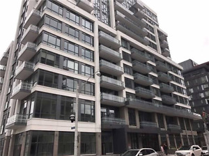 Brand new large corner condo unit 1+1 from July 1st for rent