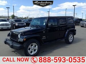 2015 Jeep Wrangler Unlimited 4WD UNLIMITED SAHARA Accident Free,