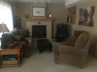 Bright Fully Furnished Basement Suite in Calgary NW