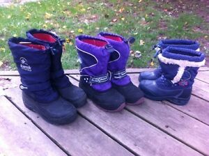 Child's Kamik/Alcon Winter Boots  in sz 12