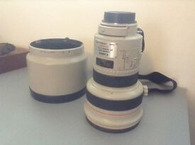 Rare Canon 200mm f 1.8 L lens, very good condition, fastest 200 lens ever, real performer