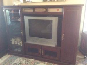 Entertainment unit - meuble de television et systeme de son