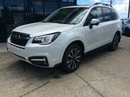 2017 Subaru Forester MY18 2.5I-S Crystal White Pearl Continuous Variable Wagon