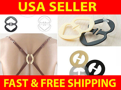 Lot of 6 Pushup Cleavage Control Racerback Bra Strap Clips
