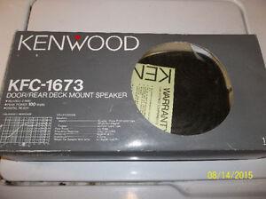 Kenwood - KFC-1673 Door/Rear mount speakers Windsor Region Ontario image 1