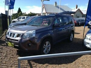 2012 Nissan X-Trail T31 Series IV ST-L Purple 1 Speed Constant Variable Wagon Raymond Terrace Port Stephens Area Preview