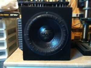 "12"" Lanzar Max Sub & Punch 201s Amp"