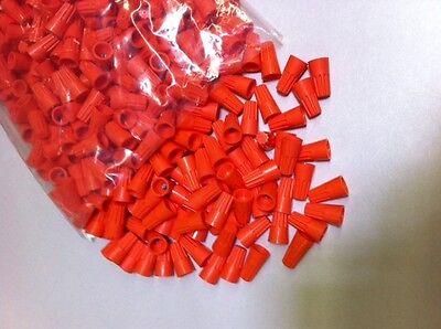 Twist Type Orange Wire Connector 1000 Nuts Twist On