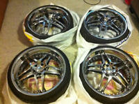 20 inch Chrome Rims with Tires