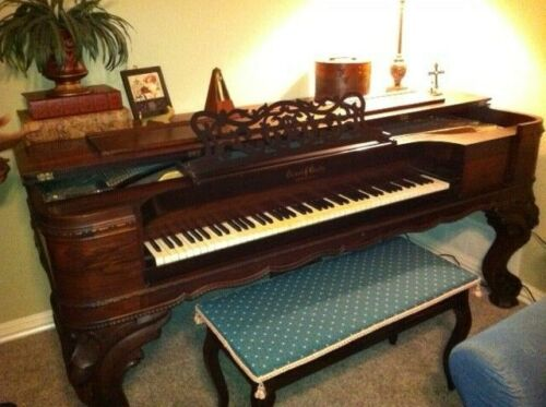 Antique Squire Grand Piano