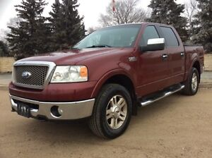2006 Ford F-150, Lariat-Pkg, Supercrew, 4x4, Leather, $12,500