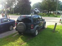 2005 Jeep Liberty CRD SUV, Crossover