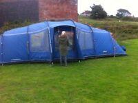 Vango Astoria 800 Tent. 8 man, Blue