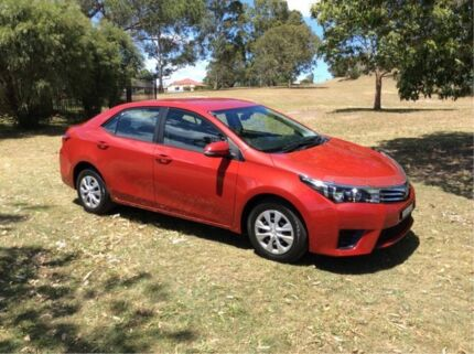 2016 Toyota Corolla ZRE172R Ascent S-CVT Red 7 Speed Constant Variable Sedan East Maitland Maitland Area Preview