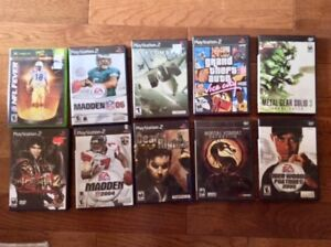 PSP 2 games (9), 1 Xbox NFL 2004: All For Sale!
