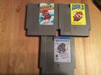 Jeux NES et SNES