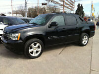 2007 CHEVROLET AVALANCHE LTZ 4X4 - LEATHER / SUNROOF / NAV / DVD
