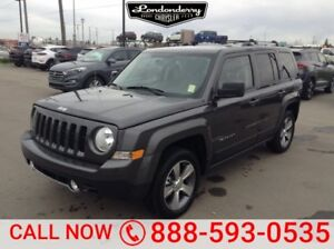 2017 Jeep Patriot 4WD HIGH ALTITUDE Leather,  Heated Seats,  Sun
