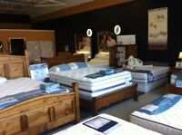 This weekend save on your new mattress,Cobourg showroom open 6